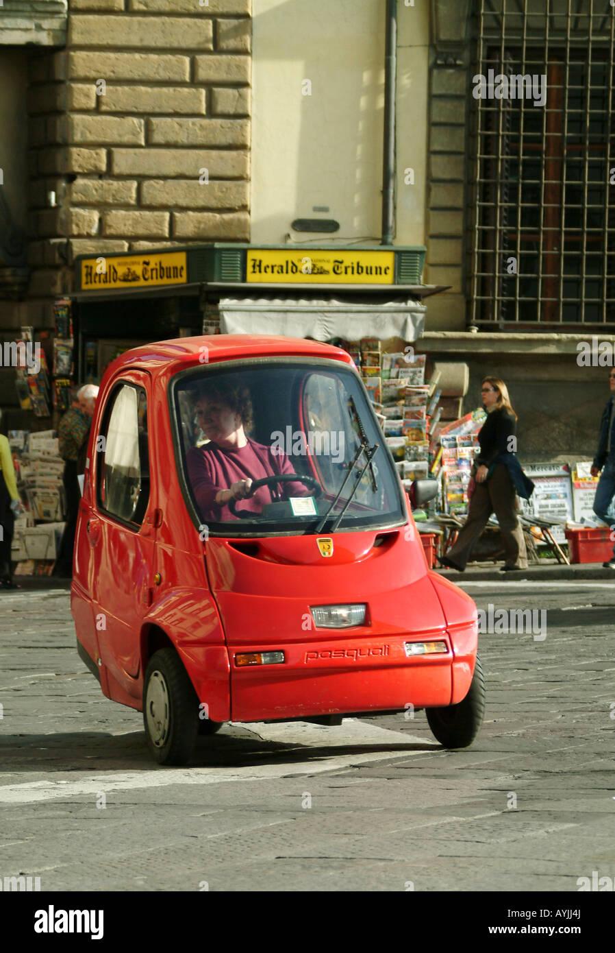 Italien 3 rad auto Piaggio Ape