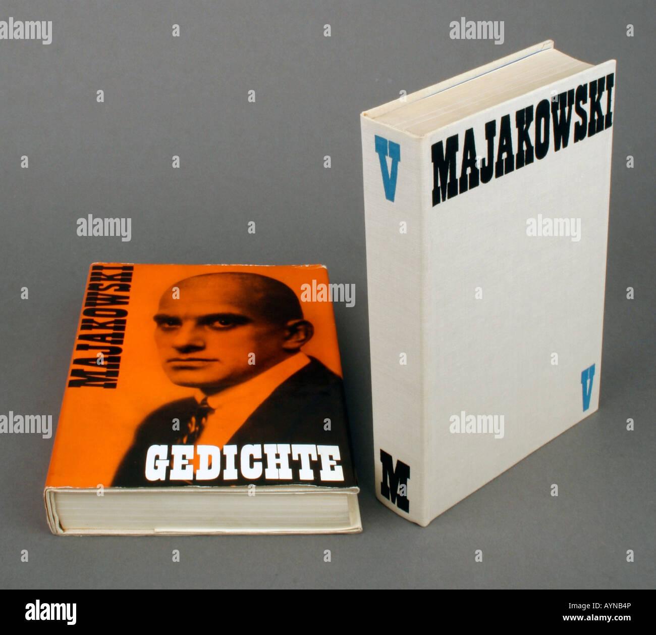 Literatur Gedichte Majakowski Arbeiten Edition Band V