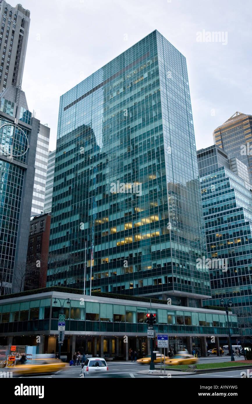 hebel haus new york city einflussreichen internationalen stil wolkenkratzer von gordon bunshaft. Black Bedroom Furniture Sets. Home Design Ideas