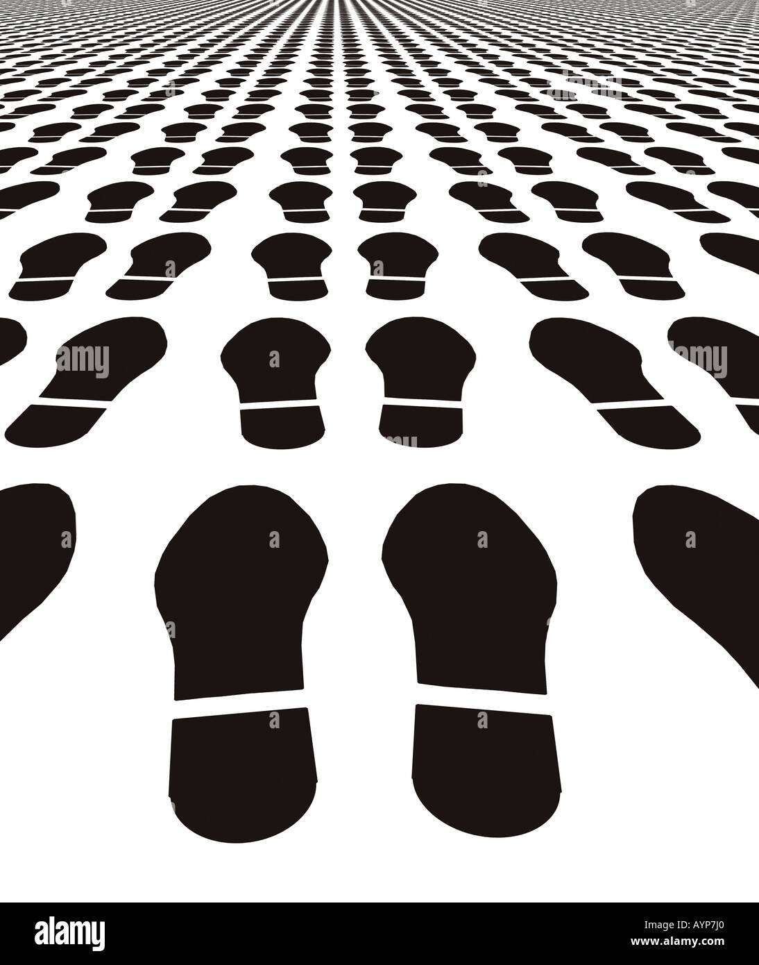 Shoe Prints Silhouette Stockfotos & Shoe Prints Silhouette Bilder ...