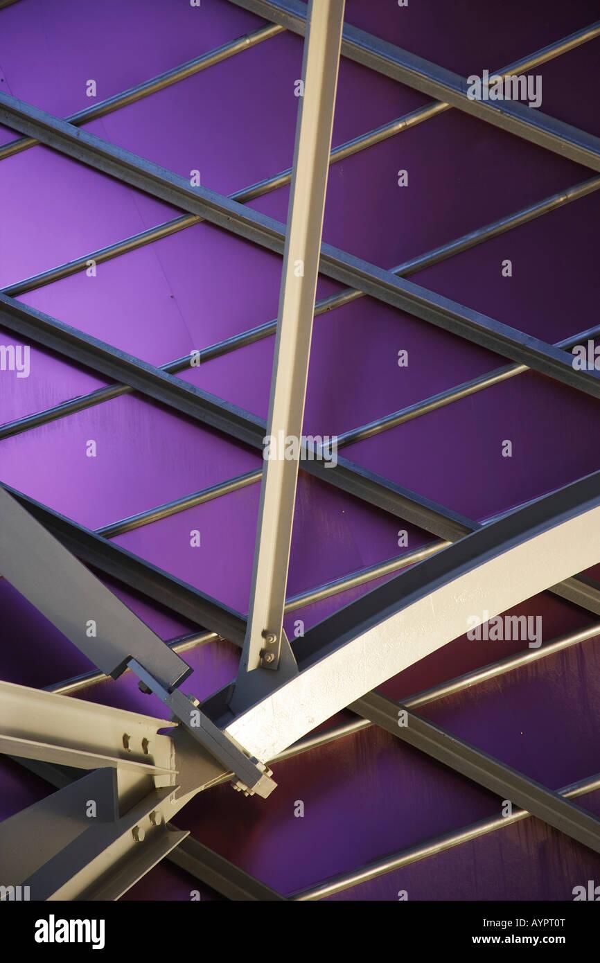 Architektonische Verbindung detail Stockbild