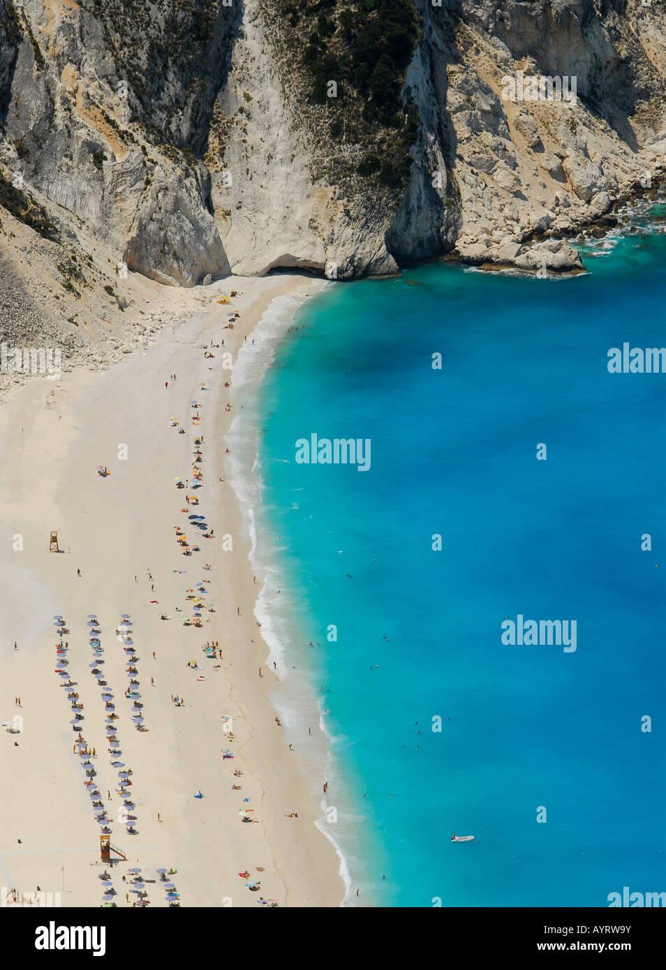 Mirtos Strand, Kefalonia, Ionische Inseln, Griechenland Stockbild