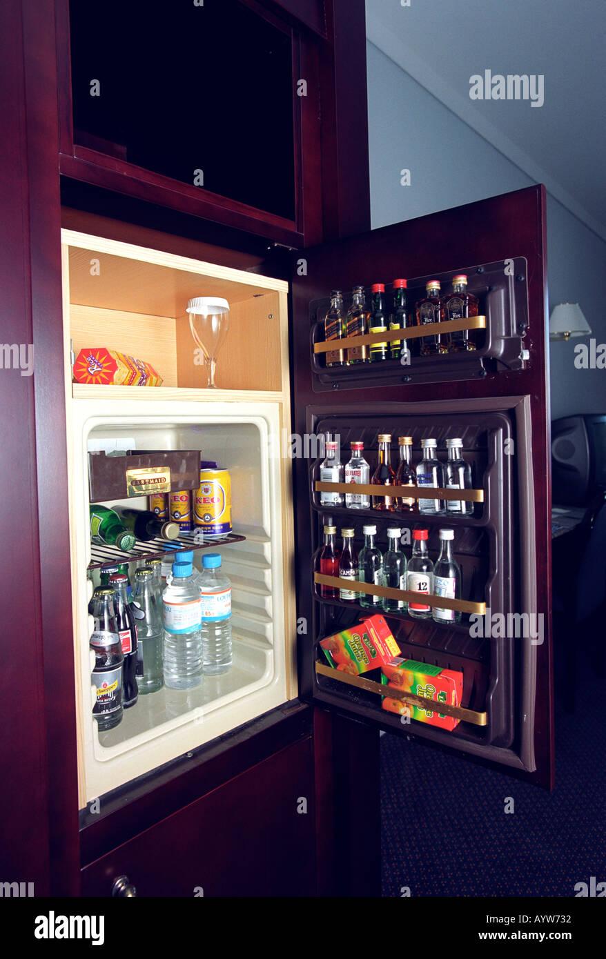 Hotel Minibar Stockfoto, Bild: 3200817 - Alamy