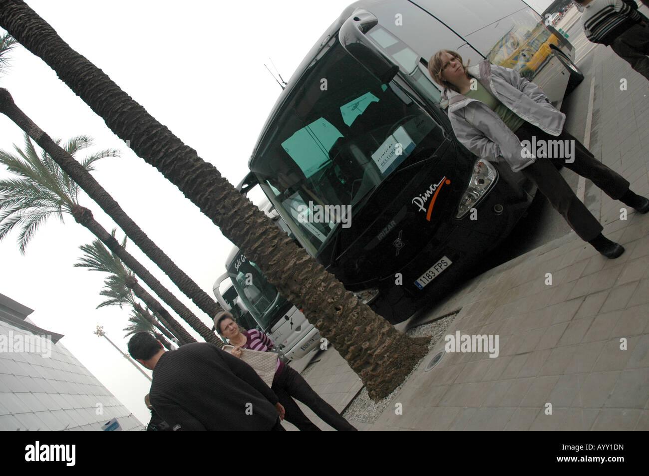 Reisen Reisen Reisen Reisen Transport Transport Bus bus Stockbild