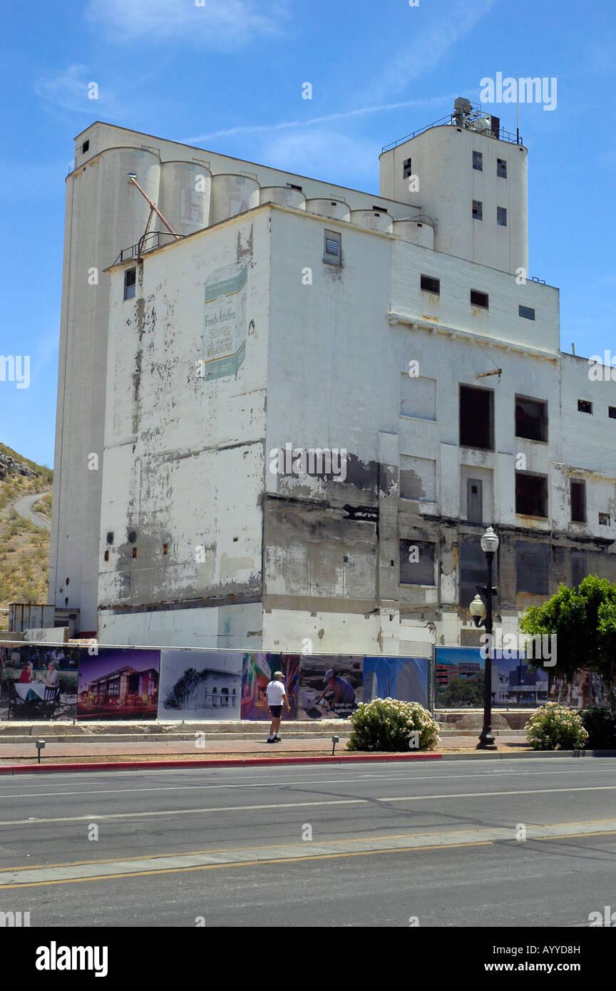 Hayden Getreidemühle archäologisches Projekt Tempe AZ Stockbild