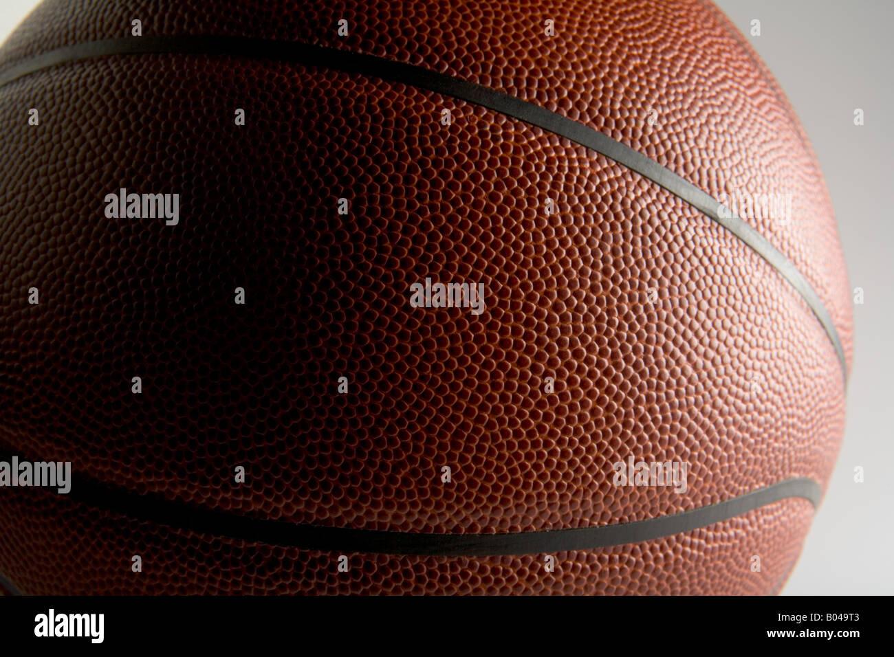 Nahaufnahme von basketball Stockfoto