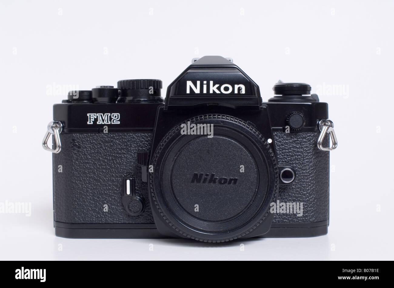 Nikon FM2 Slr 35mm Filmkamera Stockbild