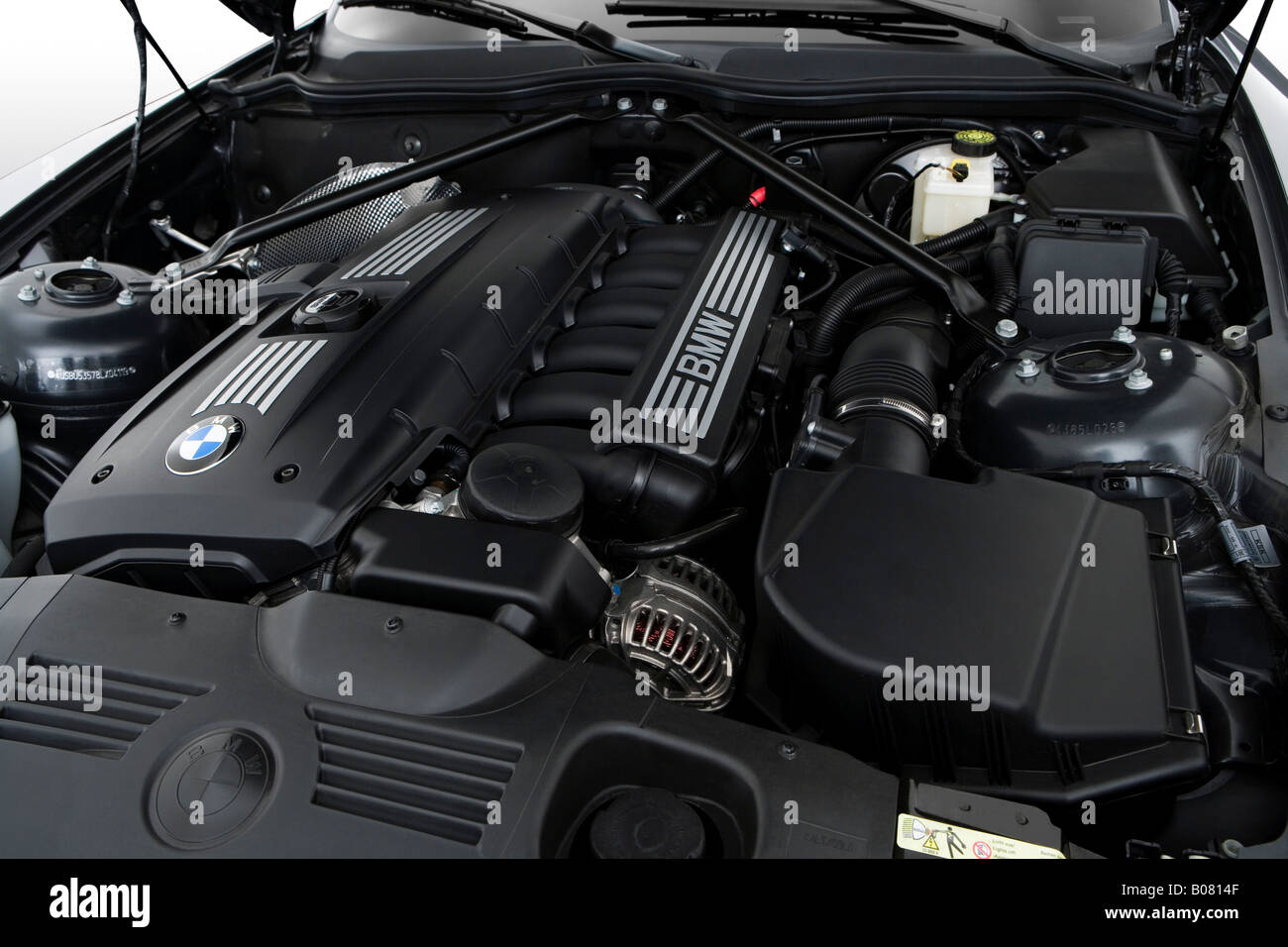 2008 Bmw Z4 30si In Grau Motor Stockfoto Bild 17386895 Alamy