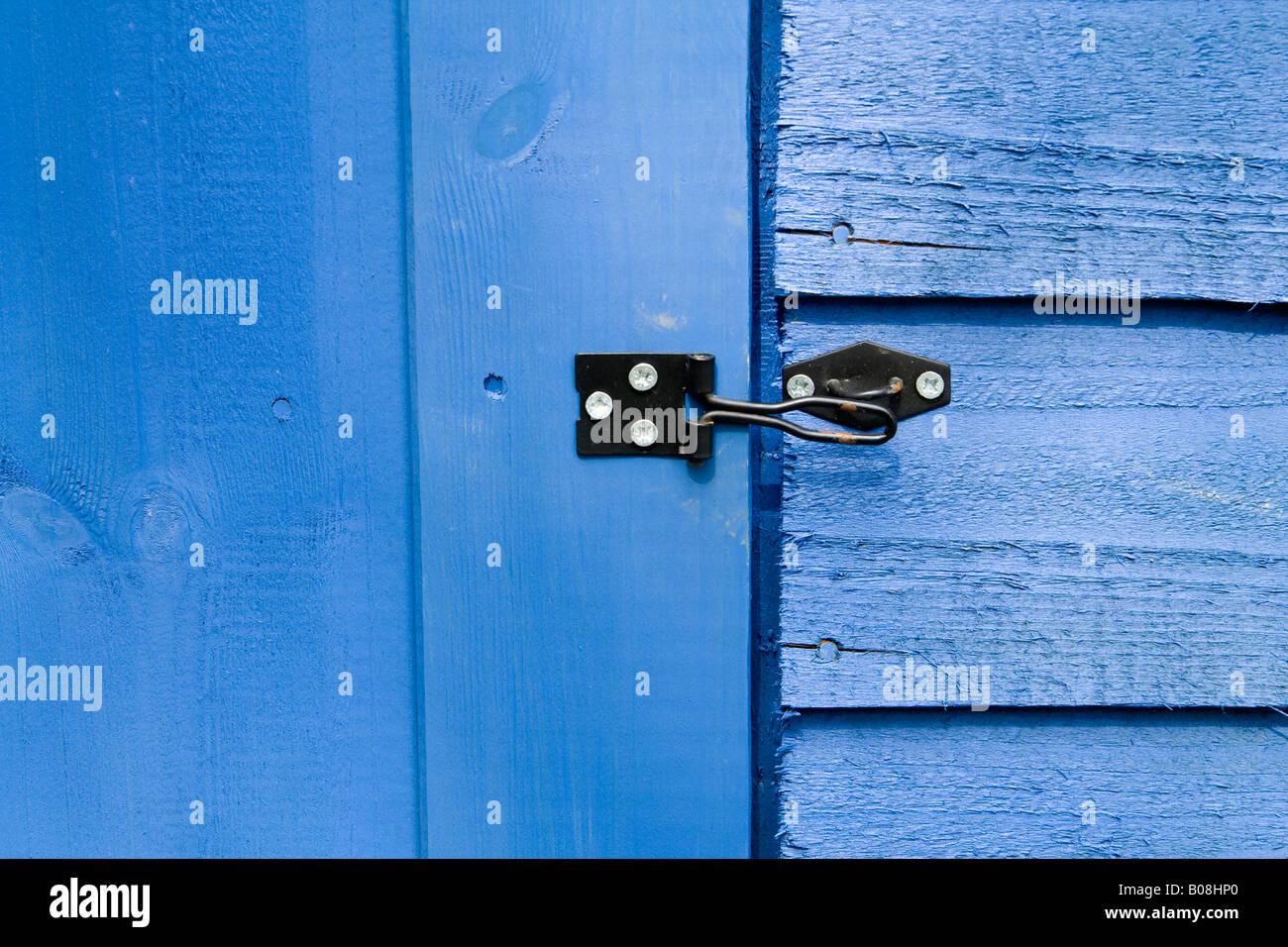 Die Verriegelung an einen Schuppen-Tür, UK Stockfoto, Bild: 17399928 ...