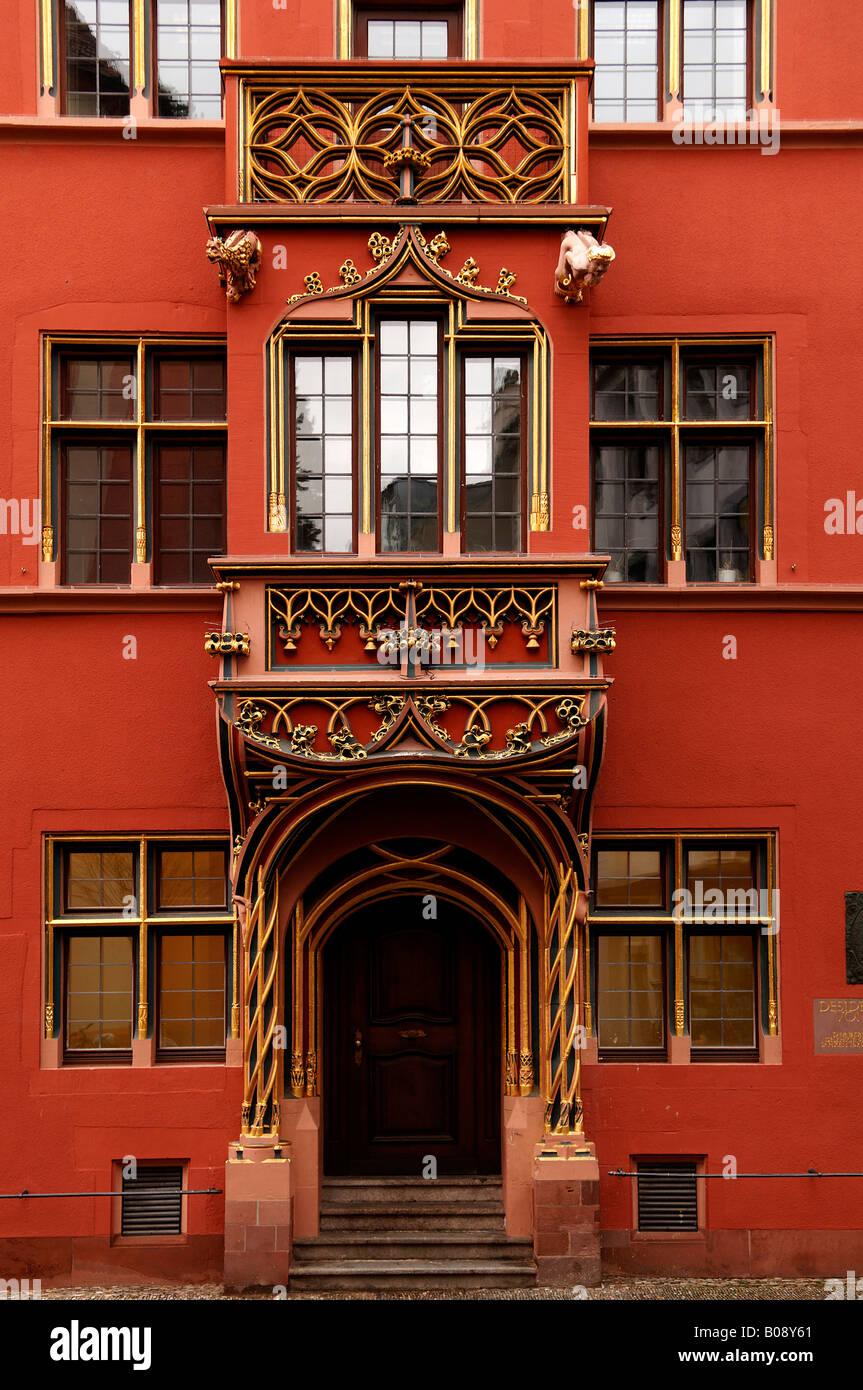Haus Zum Walfisch Stockfotos & Haus Zum Walfisch Bilder - Alamy