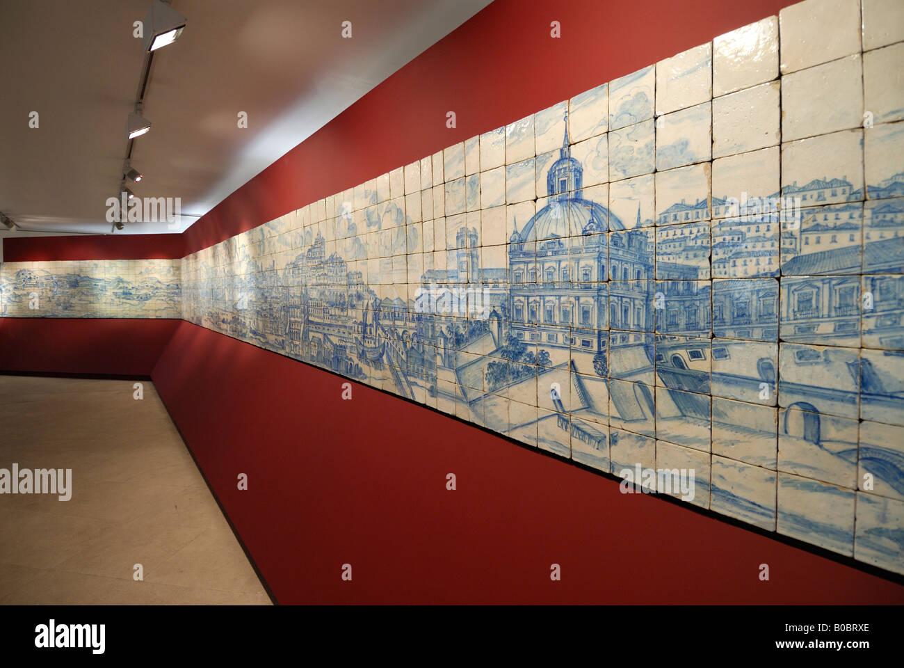 Perfekt Lissabon Portugal Panorama Von Lissabon In Der Museu Nacional Azulejo  National Museum Von Fliesen