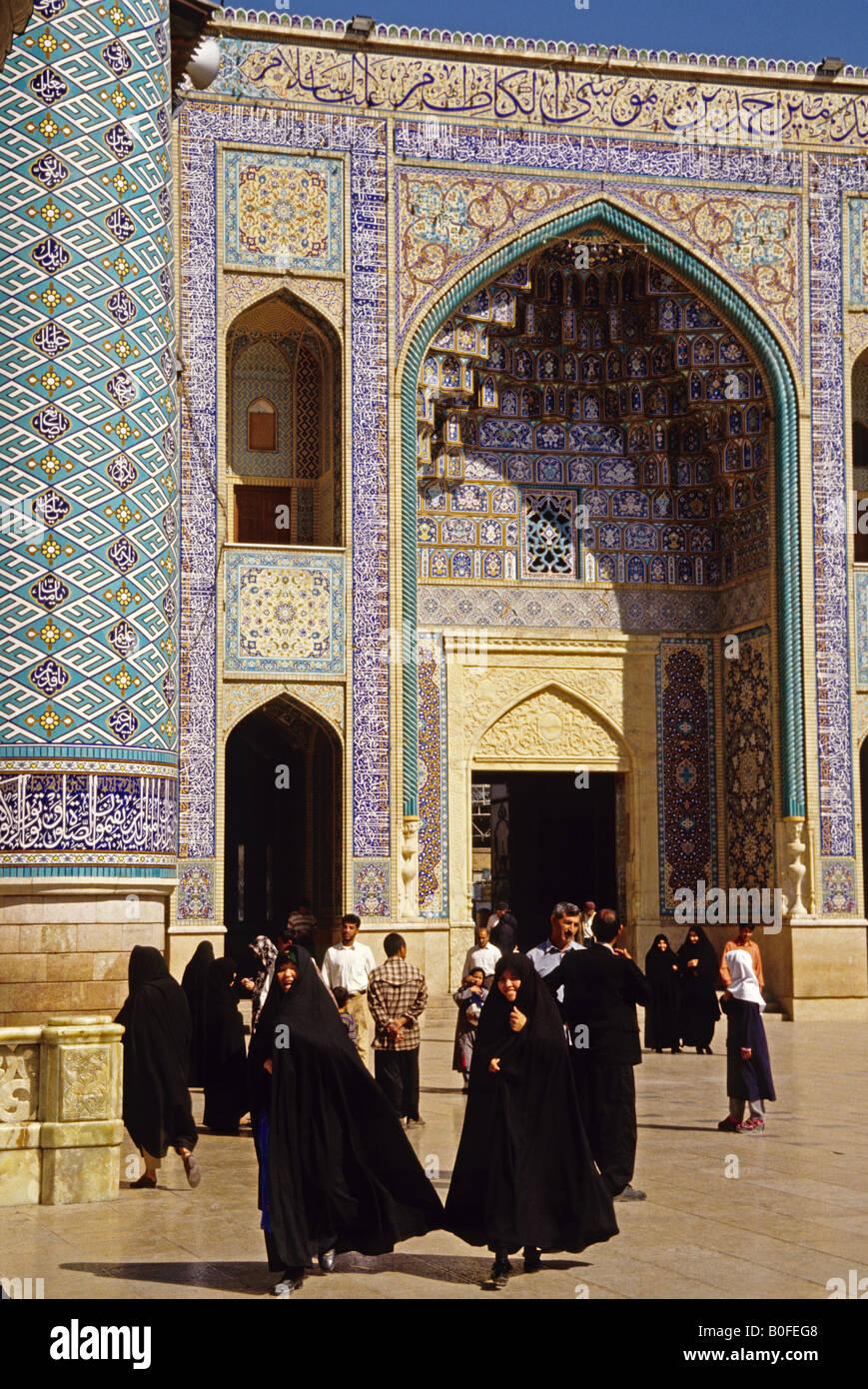 Shiraz-Moschee Stockbild