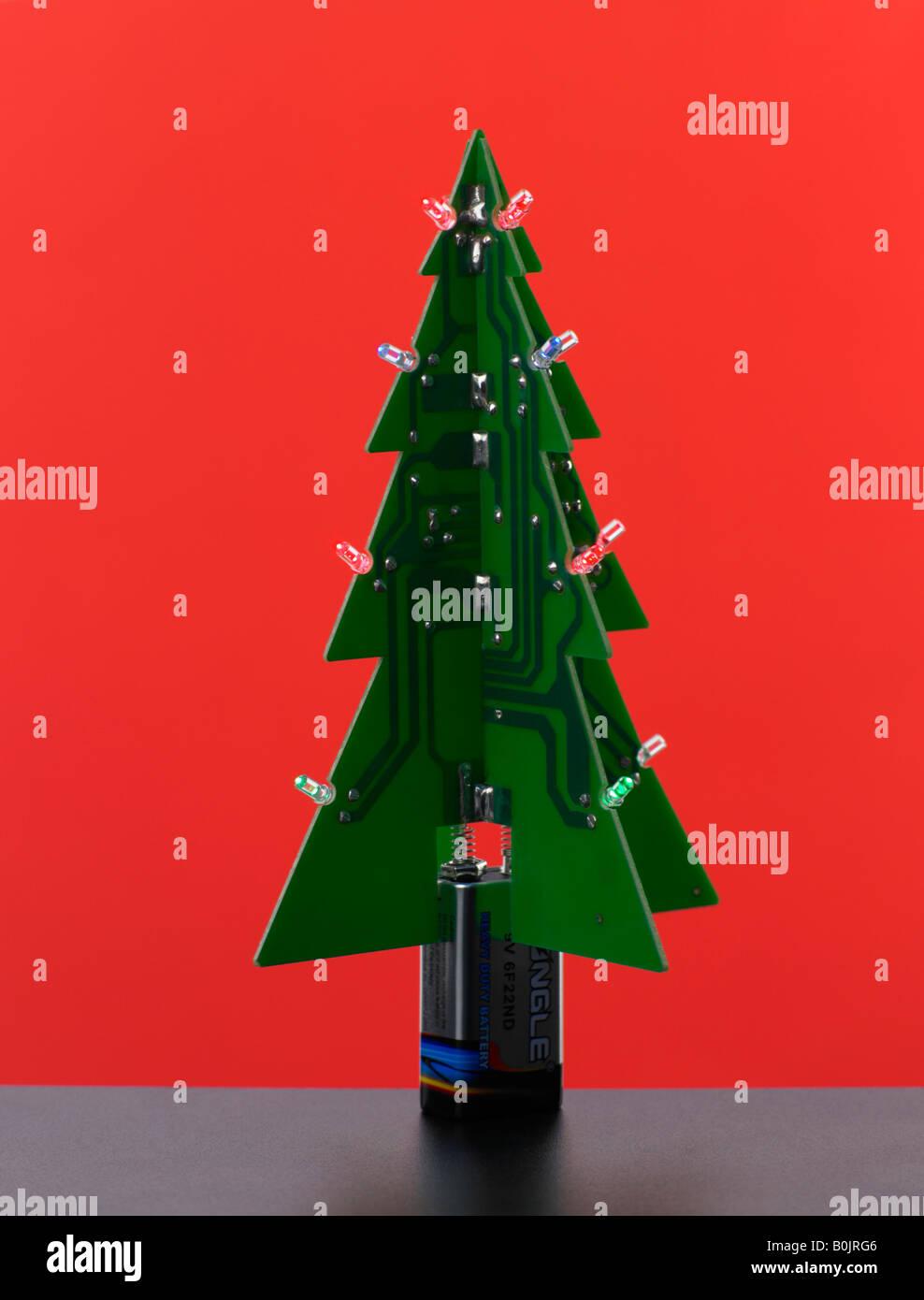 digitale weihnachtsbaum stockfoto bild 17623990 alamy. Black Bedroom Furniture Sets. Home Design Ideas