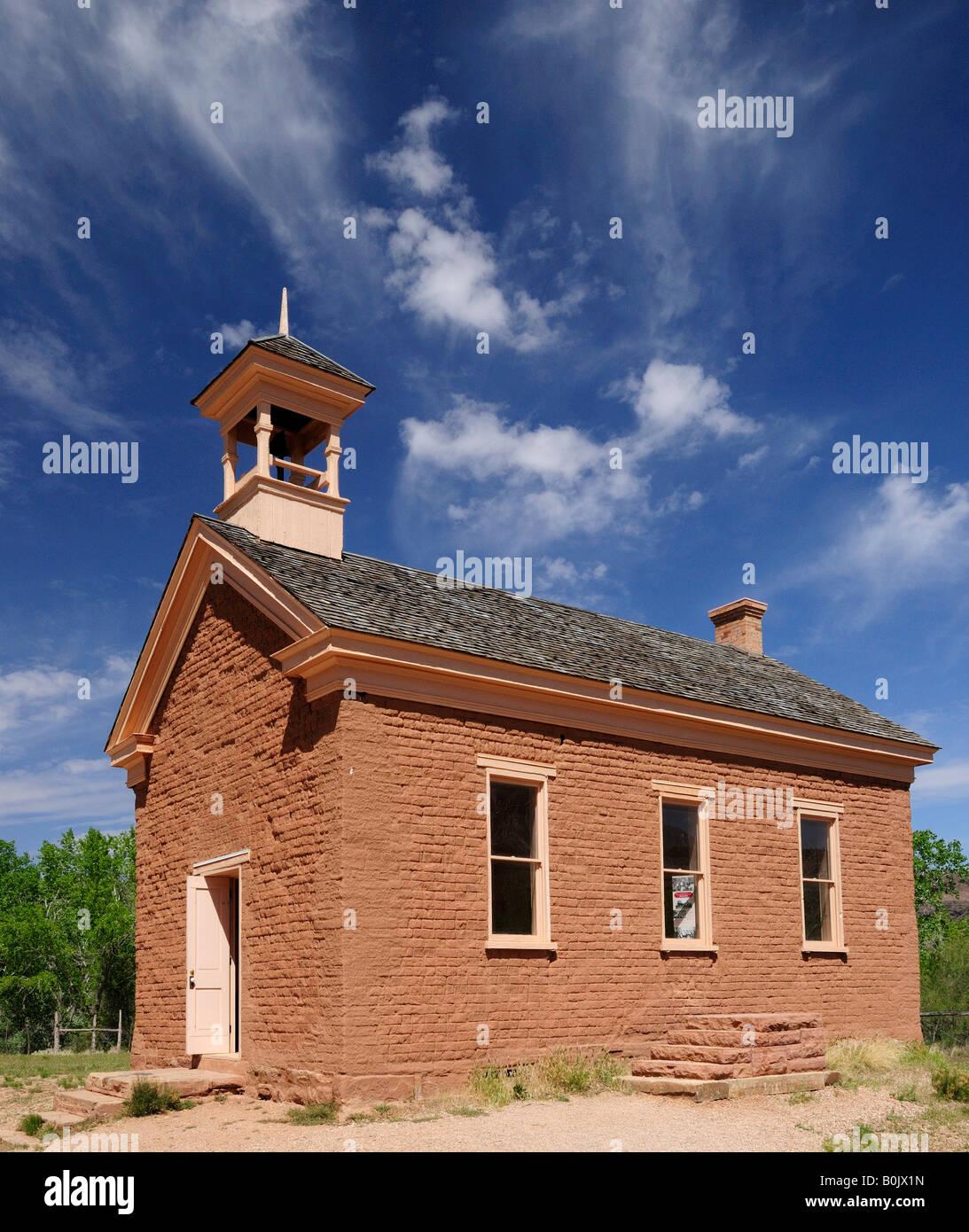 Kirche in der geisterstadt grafton nahe zion national park for Wildparks in der nahe