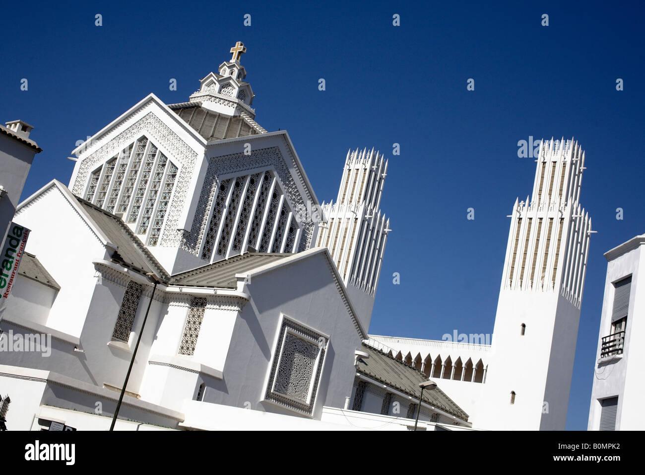 Kathedrale St. Pierre. Rabat, Marokko Stockbild