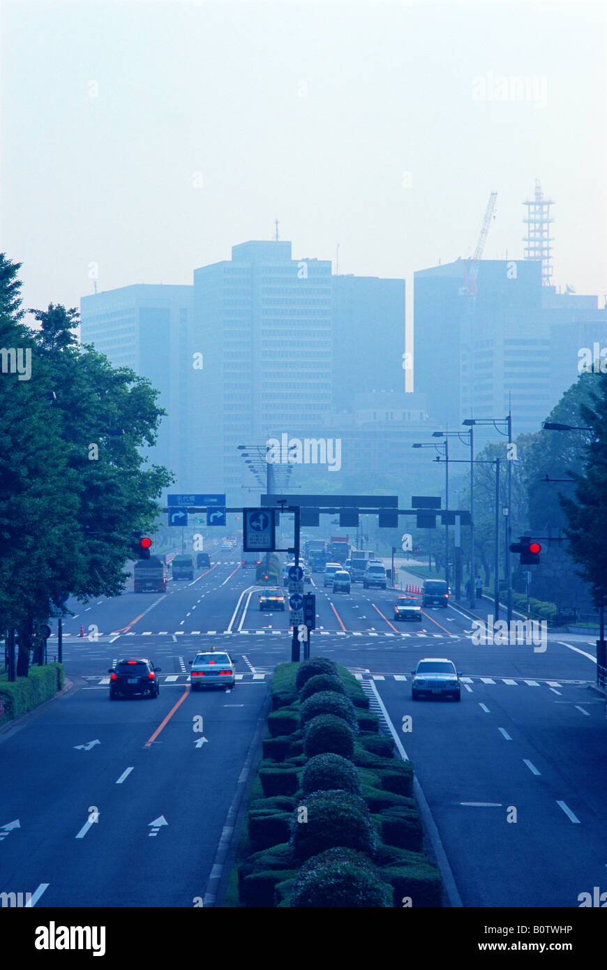 Stadtbild, Tokyo, Japan Stockbild