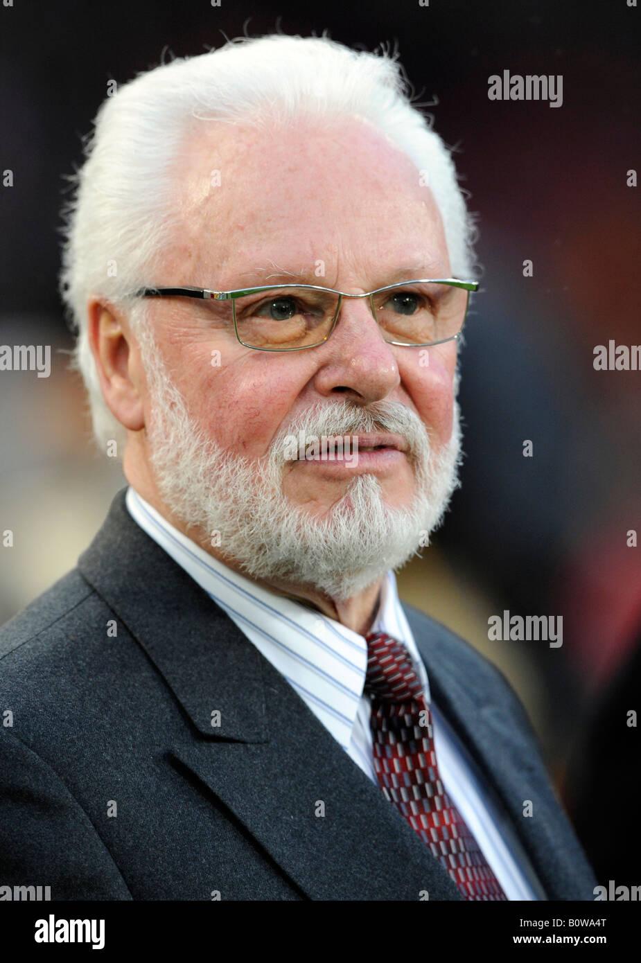 Michael A. Roth, Präsident des 1. FC Nürnberg, Fußball-Verein Stockbild