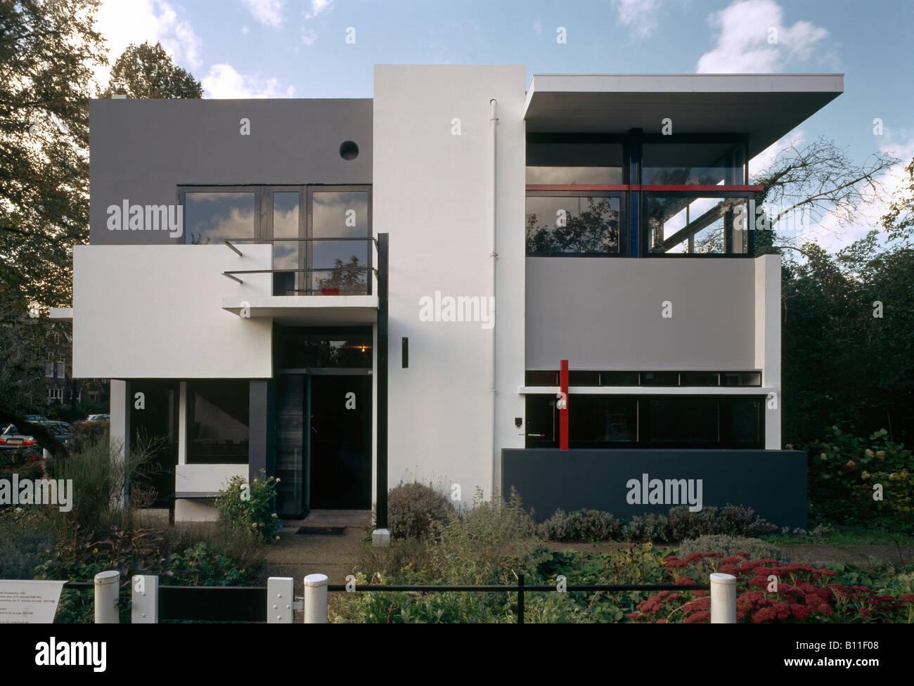 Utrecht Rietveld Schröder Haus Stockfoto Bild 17858744 Alamy