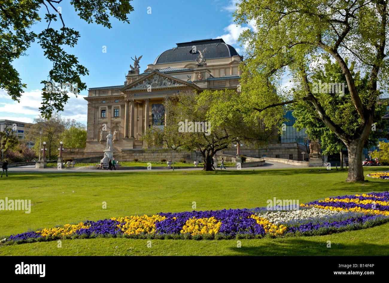 Staatstheater Wiesbaden Parken