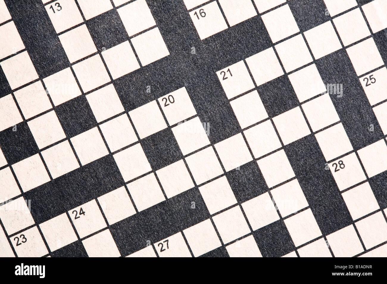 Berühmt Leere Kreuzworträtsel Vorlage Galerie - Beispiel ...