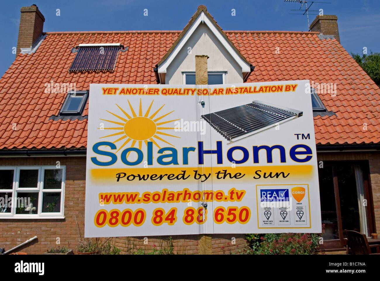 Great Wohneigentum Mit Einer Auf Dem Dach Solar Warmwasser Heizung Ausgestattet.