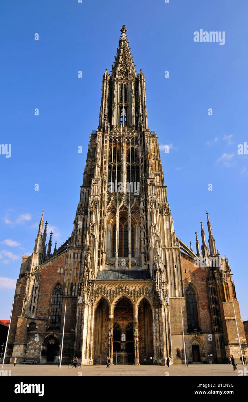 Ulmer Münster Der Höchste Kirchturm Der Welt Deutschland Baden