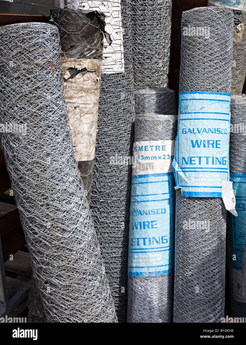 Wire Netting Stockfotos & Wire Netting Bilder - Alamy