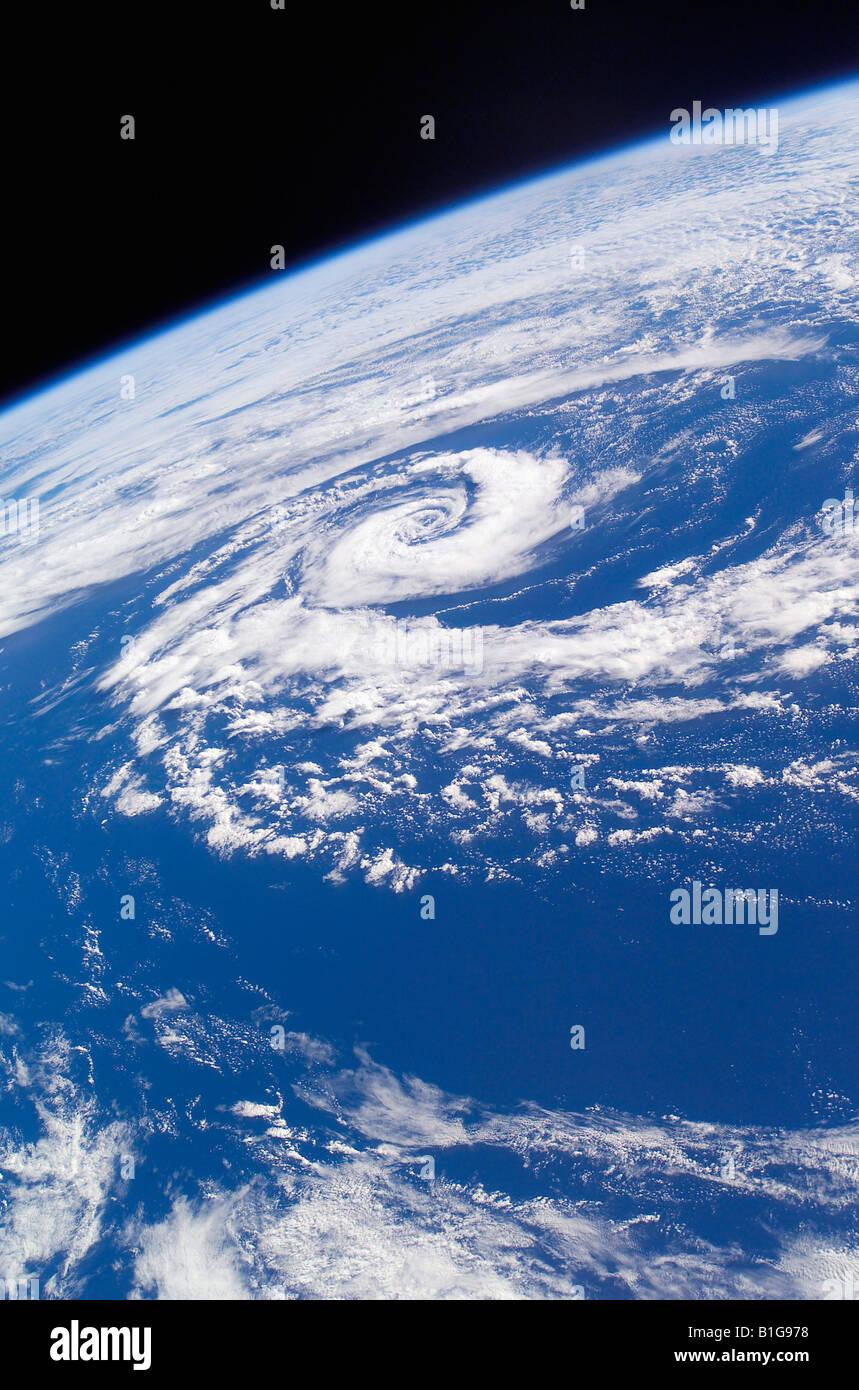 Subtropischer Wirbelsturm Tasmansee Stockbild