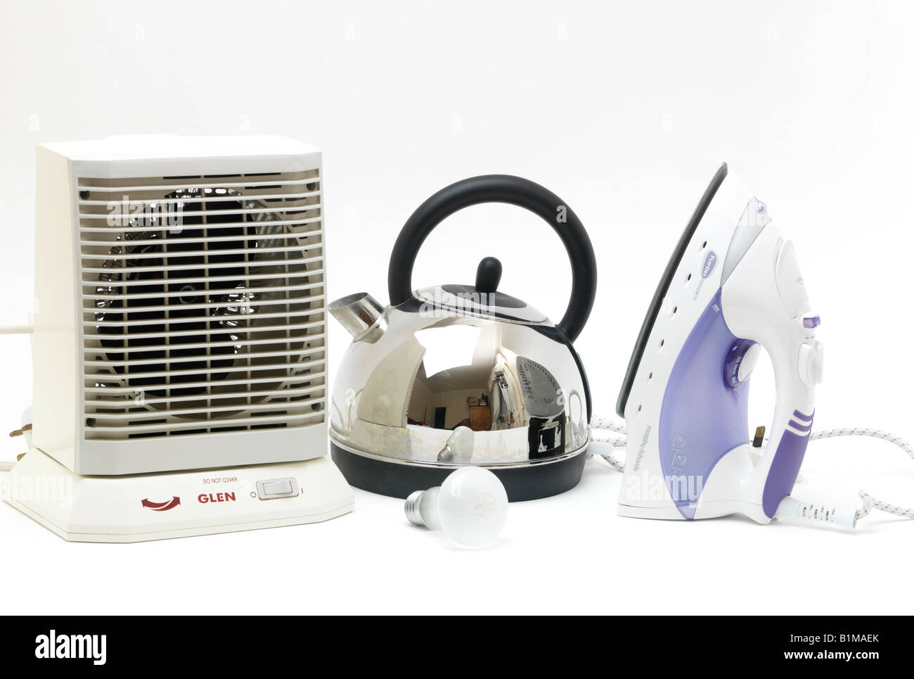 Elektrische Geräte Wasserkocher Heizung Eisen und elektrische ...