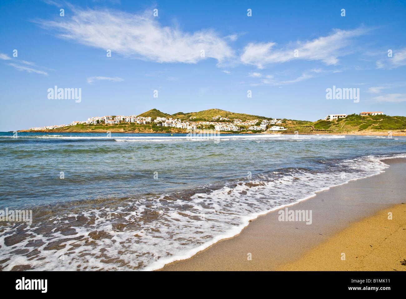 Cala Tirant Menorca Minorca Stockfoto