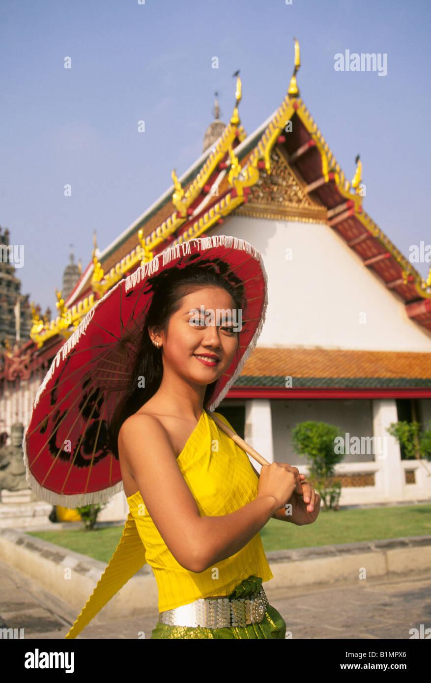 Bangkok schöne Mädchen
