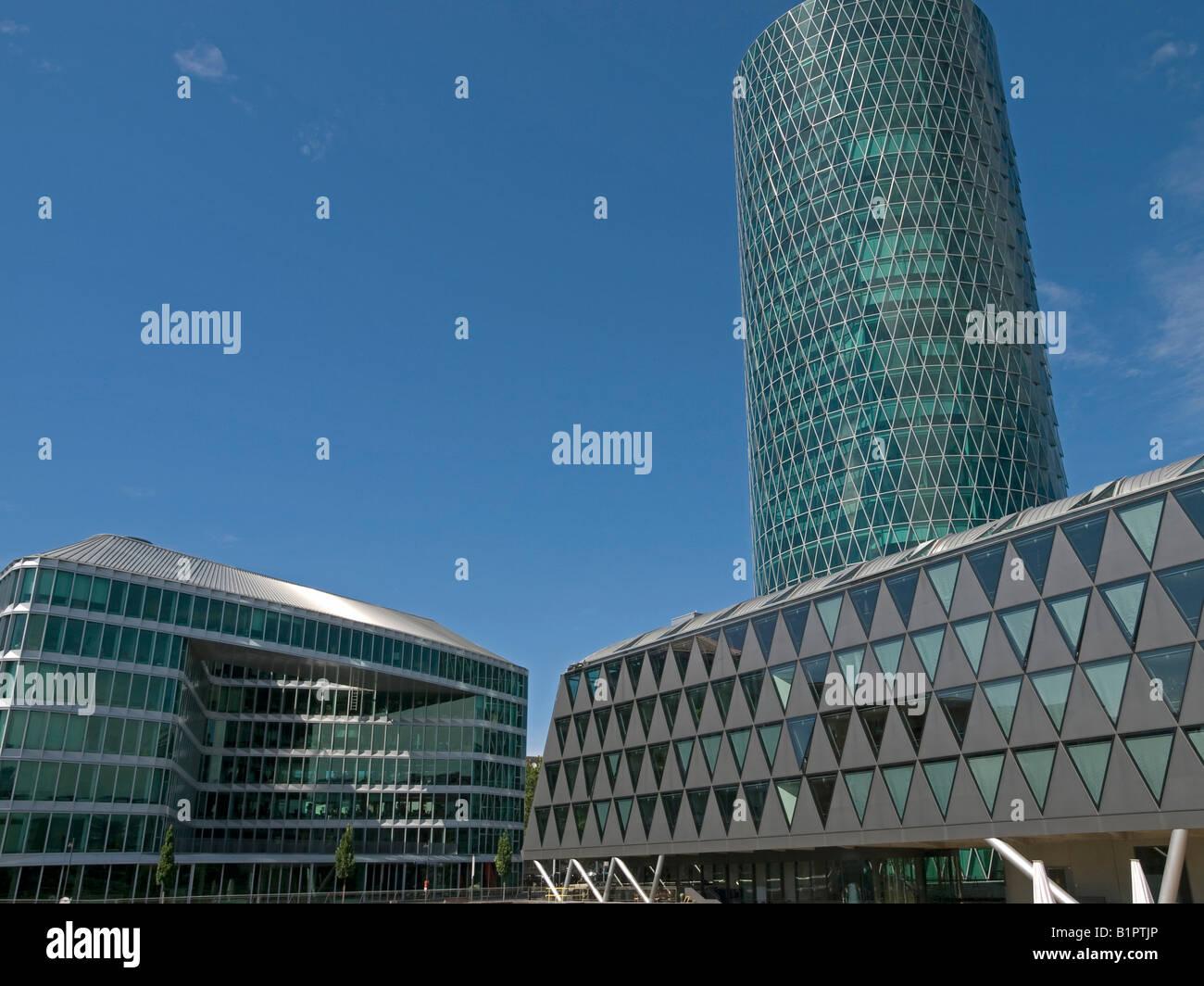 Moderne Architektur Konstruktionen Mit Office Tower Westhafen Tower