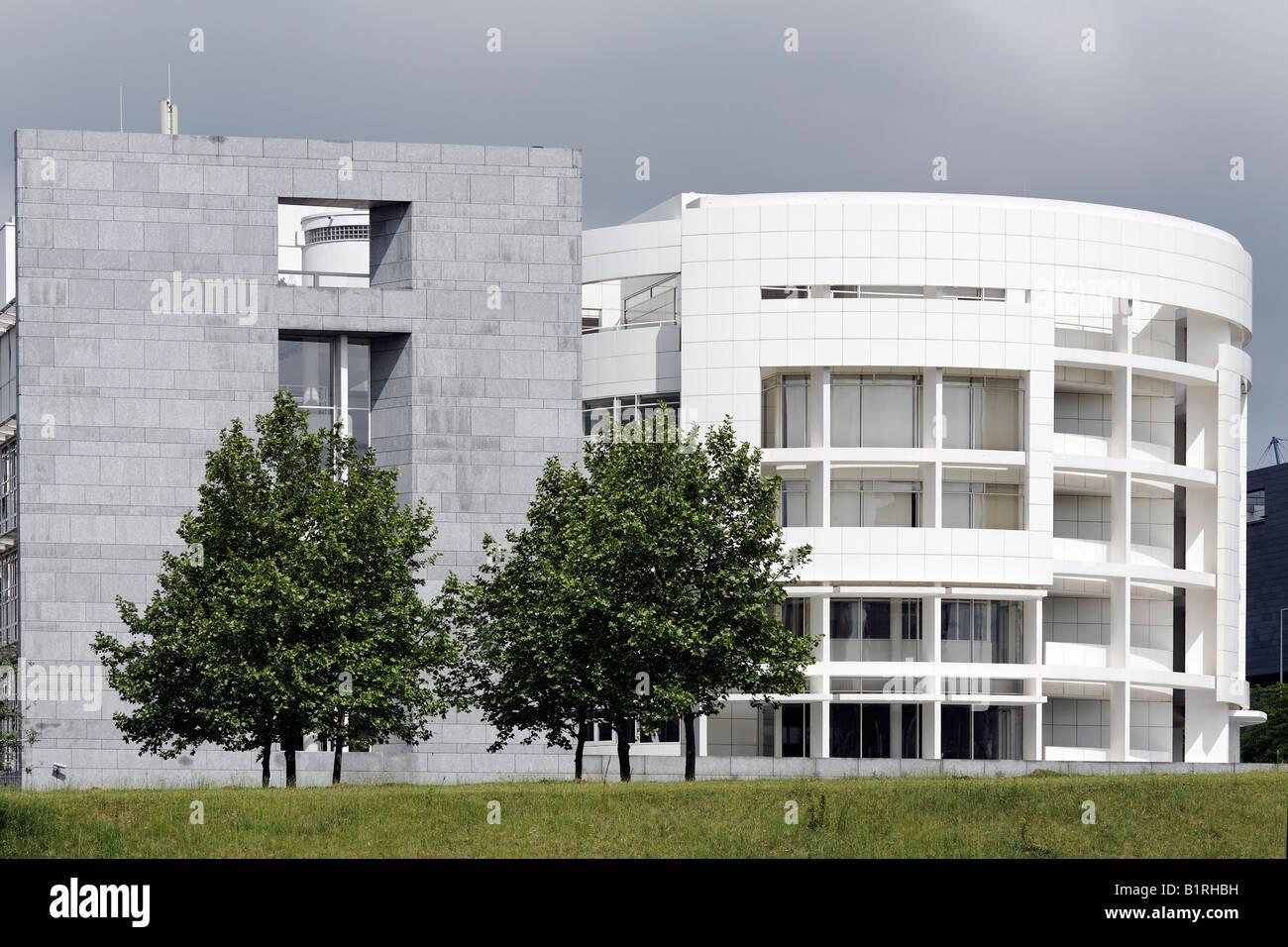 Architekt Luxemburg moderne hypobank gebäude entworfen architekt richard meier