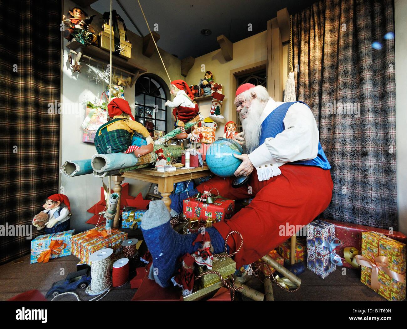 Anzeige Puppe Märchen Vater Santa Store Shopping Märchen Fenster ...