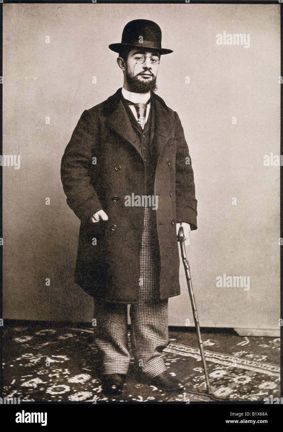 Henri Marie Raymond de Toulouse-Lautrec Monfa, 1864 - 1901. Französischer Maler, Grafiker, Zeichner und Illustrator. Stockbild