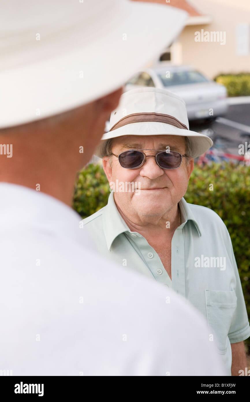 Treffen mit einem älteren mann