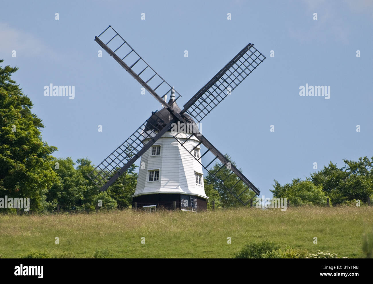 Turville Mühle Buckinghamshire UK Stockbild