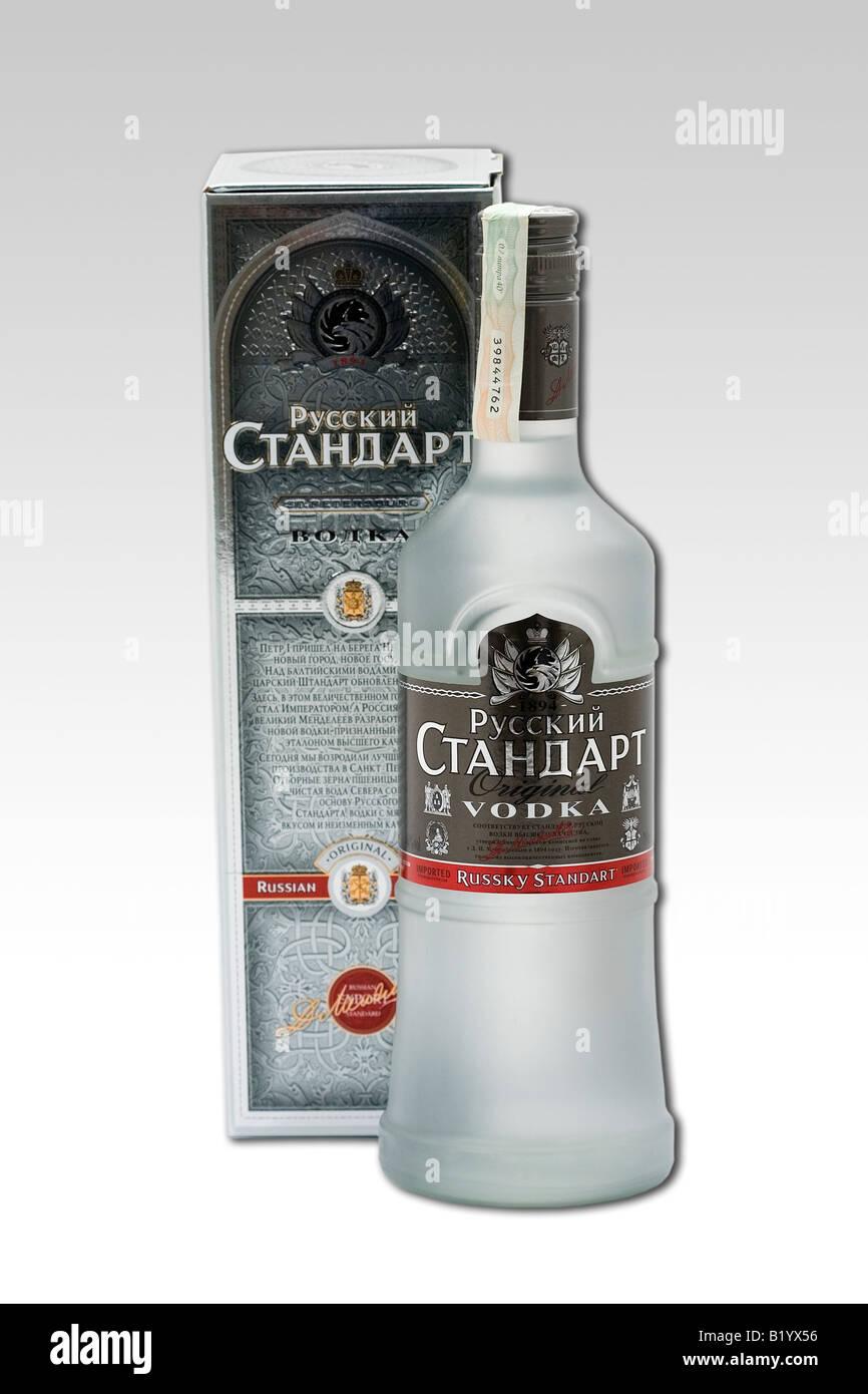 Russischen Adligen Wodka Standart Alkohol Getränk original Russland ...