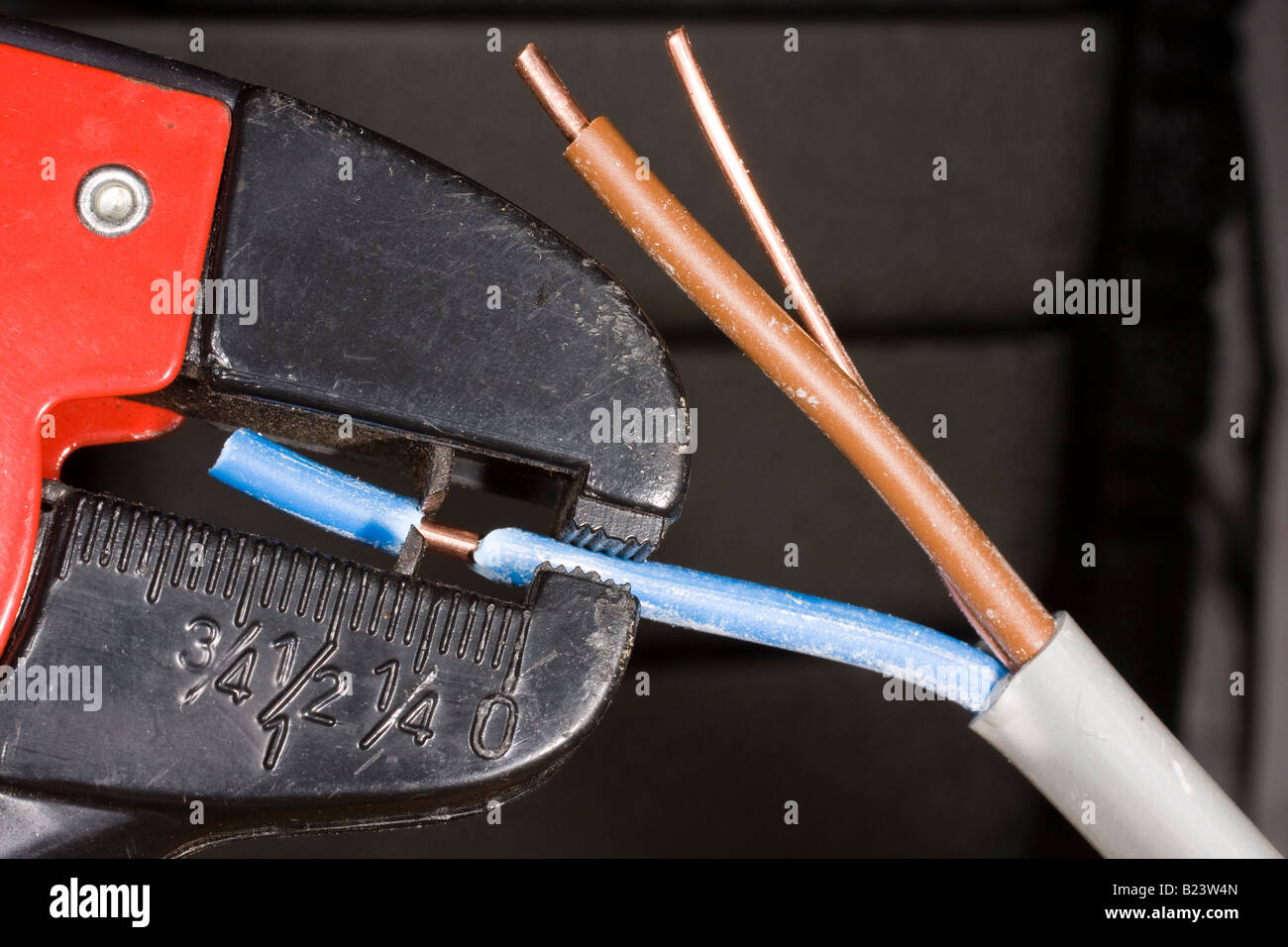 Copper Cable Used In Electrical Stockfotos & Copper Cable Used In ...