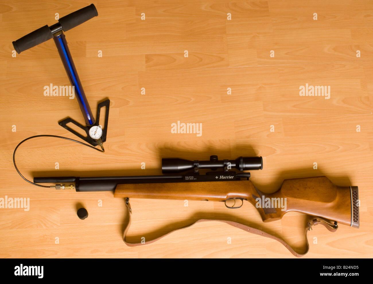 Daystate harrier vorgeladen pneumatische luftgewehr & zielfernrohr