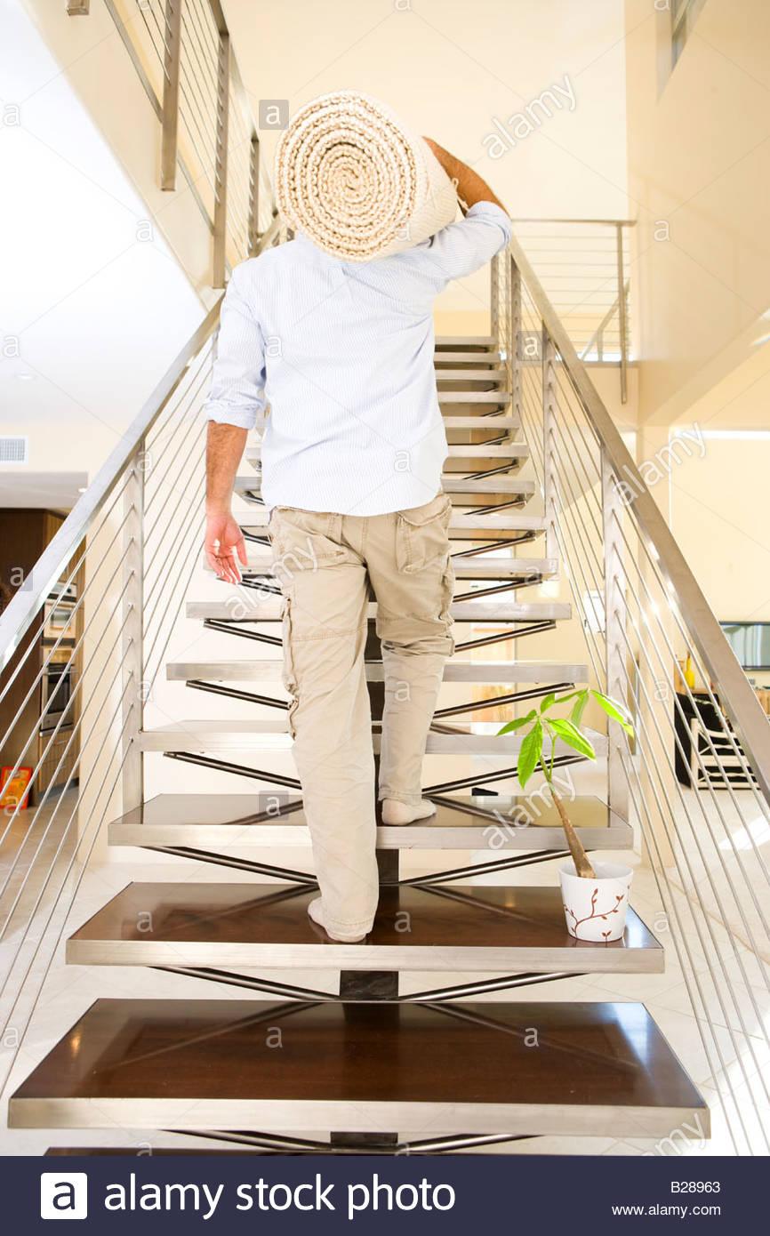 Teppich Treppen Stockfotos Teppich Treppen Bilder Alamy