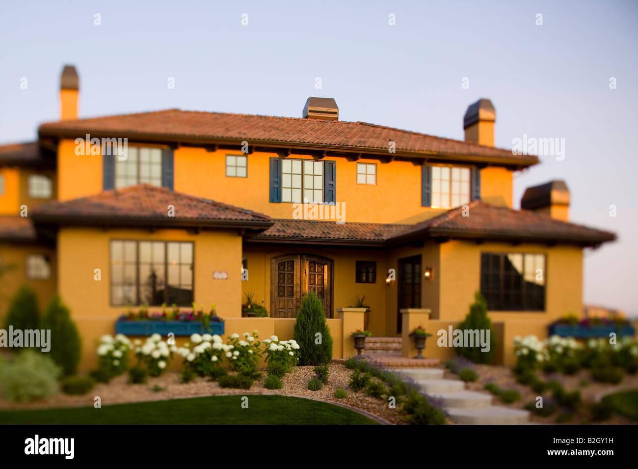 Northern Colorado modernen toskanischen Stil nach Hause außen bei ...