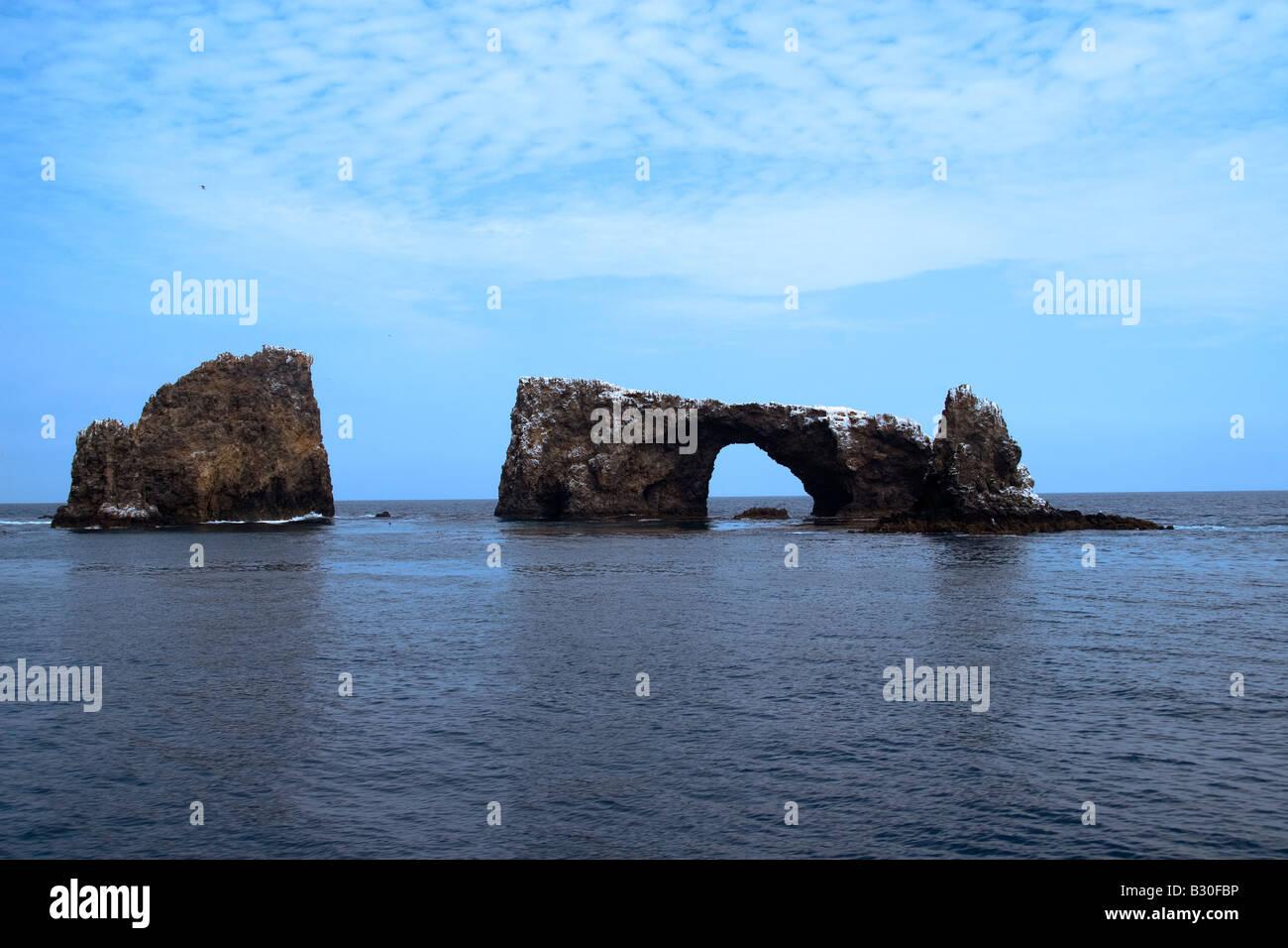 Meer Arch Stockbild