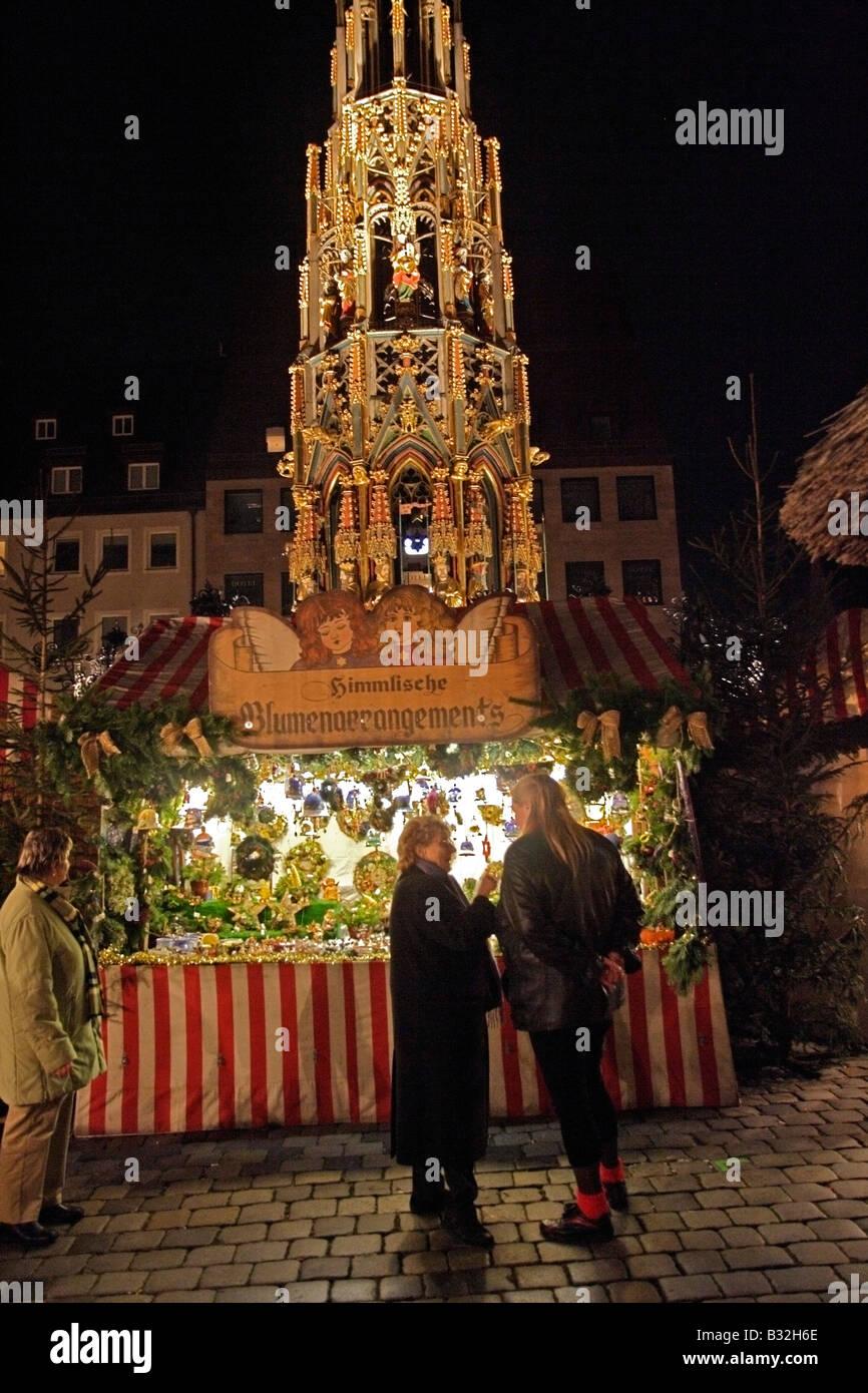 n rnberg n rnberg deutschland weihnachtsmarkt am hauptmarkt weihnachts markt christmas festival. Black Bedroom Furniture Sets. Home Design Ideas