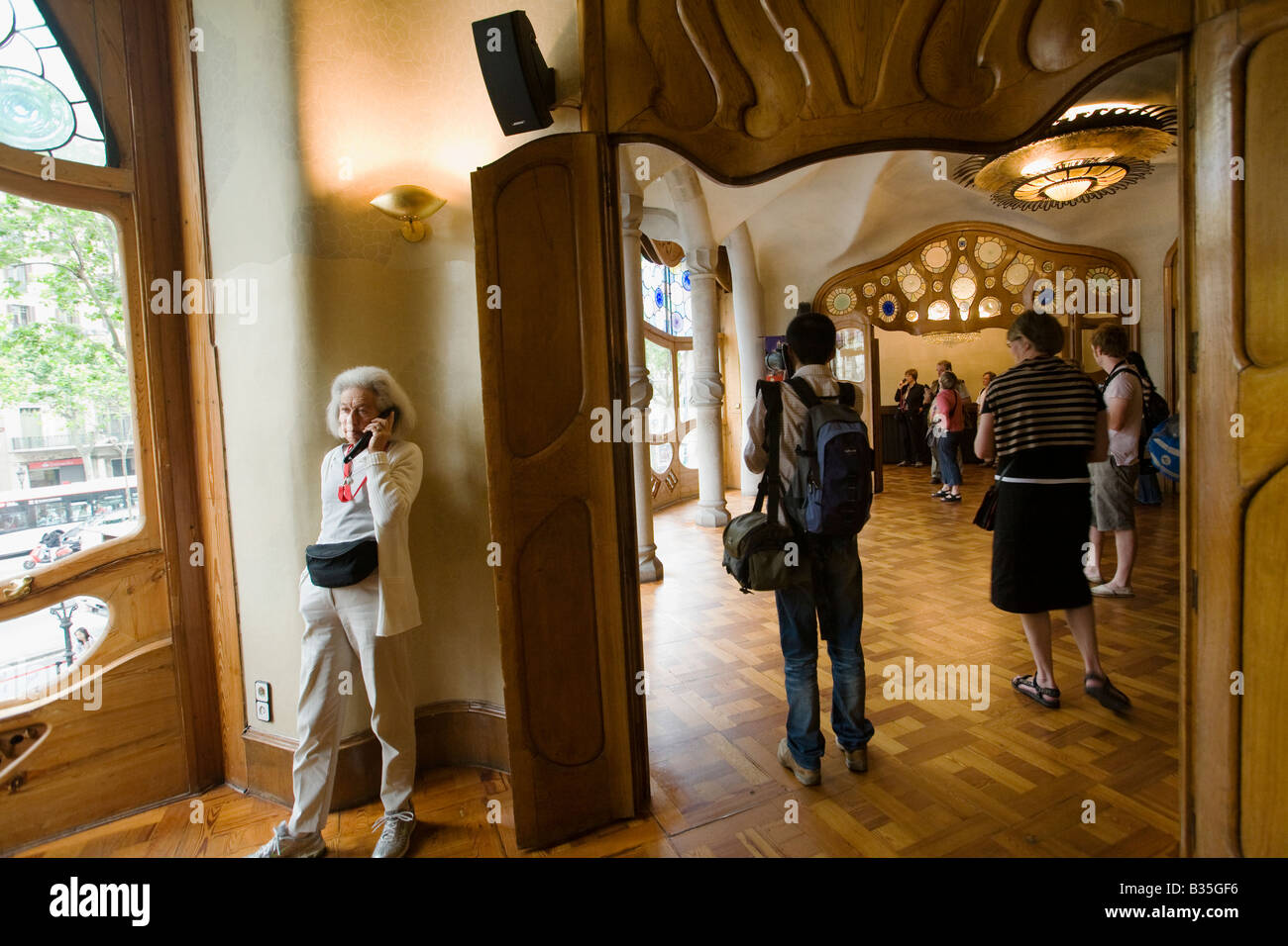 Spanien Barcelona Interior der Casa Batllo entworfen Architekt ...