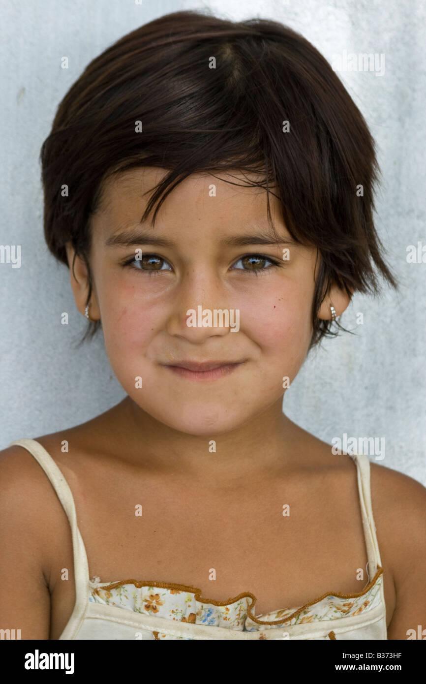 schöne usbekische Mädchen