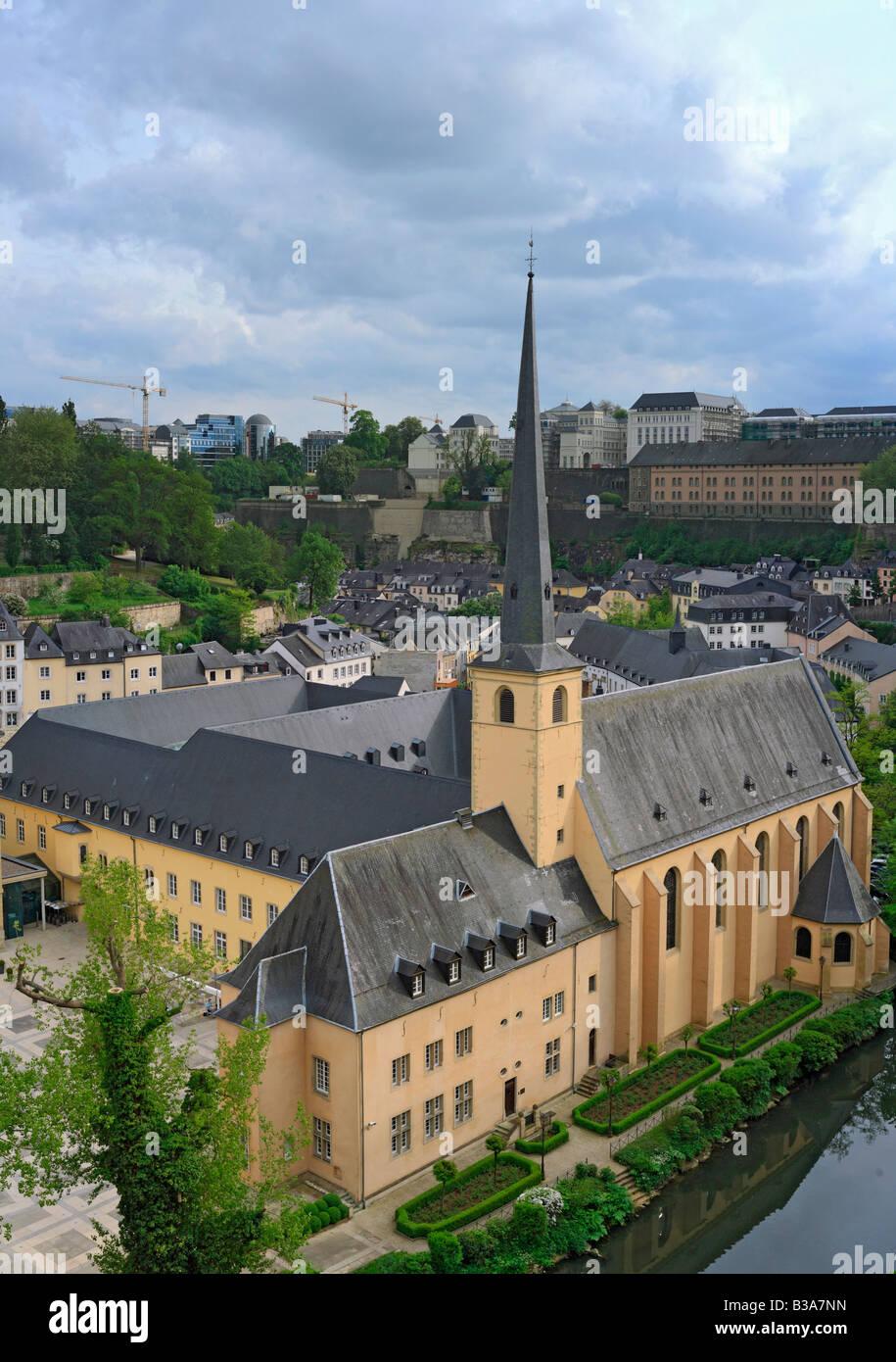 Abtei Neumünster, Luxemburg, Luxemburg Stockbild