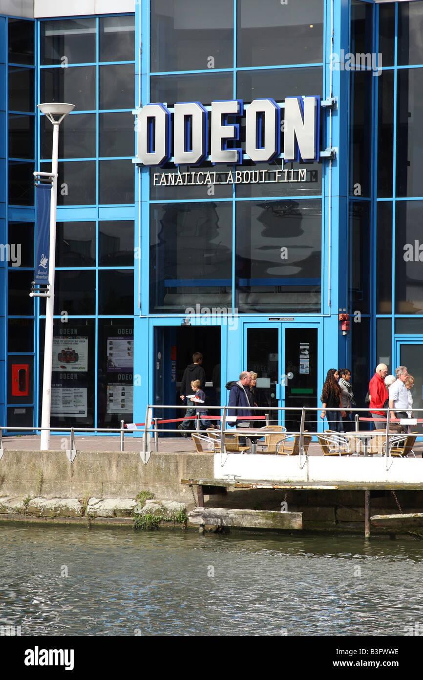 Odean Kino, Brayford Pool, Lincoln, England, Vereinigtes Königreich Stockbild