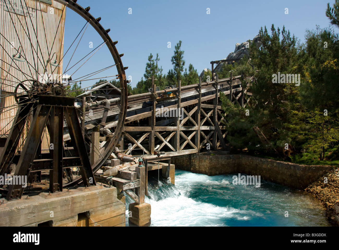 Disneyland Resort Anaheim Kalifornien Unterhaltung Grizzly River