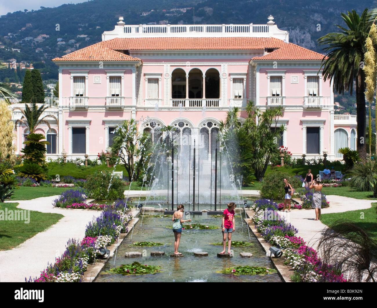Die Gärten und die Villa Ephrussi de Rothschild auf Cap ...